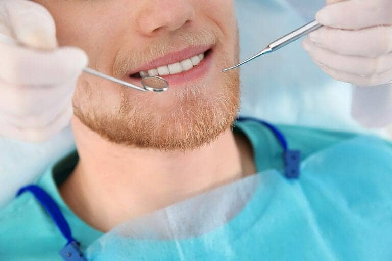 dental checkups and cleanings